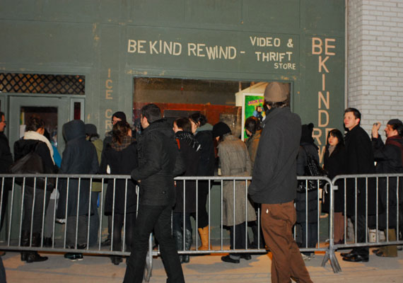 Be kind rewind, vernissage, crédit photo: Kristy Leibowitz