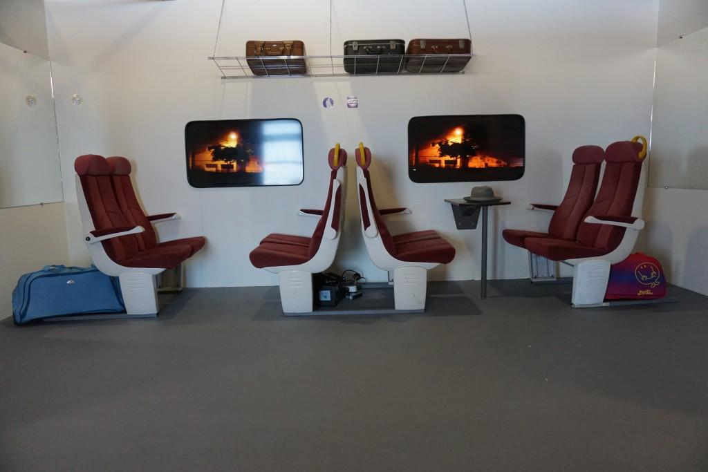 UFA Cannes Intérieur Train