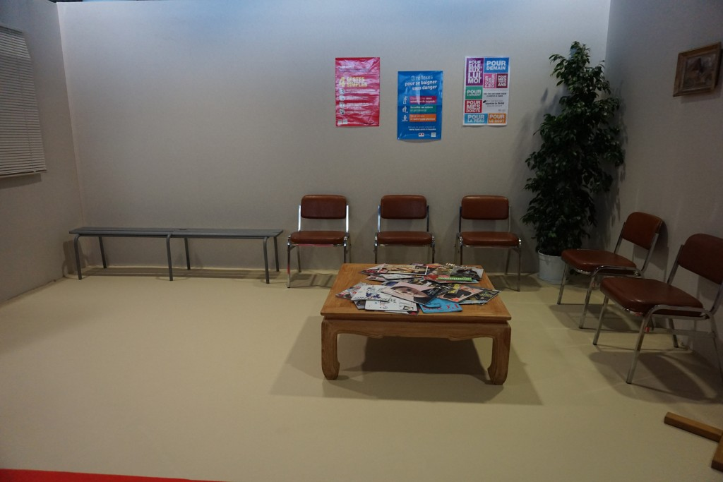 UFA Cannes Salle d'attente